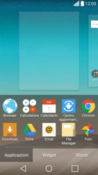 LG Spirit 4G - Operazioni iniziali - Installazione di widget e applicazioni nella schermata iniziale - Fase 4