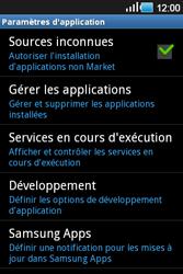 Samsung Galaxy Ace - Applications - Supprimer une application - Étape 5