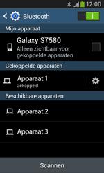 Samsung S7580 Galaxy Trend Plus - bluetooth - headset, carkit verbinding - stap 8