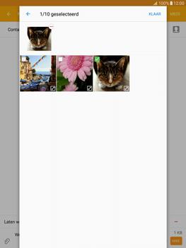 Samsung T815 Galaxy Tab S2 9.7 - MMS - Afbeeldingen verzenden - Stap 23