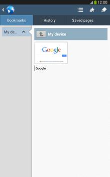 Samsung Galaxy Tab 3 8-0 LTE - Internet and data roaming - Using the Internet - Step 9