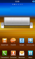 Samsung S8600 Wave 3 - internet - hoe te internetten - stap 1