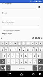 Sony Xperia X (F5121) - Android Nougat - E-mail - Account instellen (IMAP met SMTP-verificatie) - Stap 12