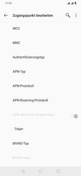 OnePlus 6T - Android Pie - MMS - Manuelle Konfiguration - Schritt 16