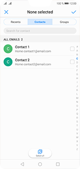 Huawei P20 Lite - Email - Sending an email message - Step 5