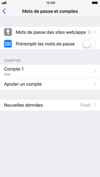 Apple iPhone 7 - iOS 12 - E-mail - configuration manuelle - Étape 25