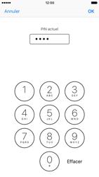 Apple iPhone 7 - Sécuriser votre mobile - Personnaliser le code PIN de votre carte SIM - Étape 7