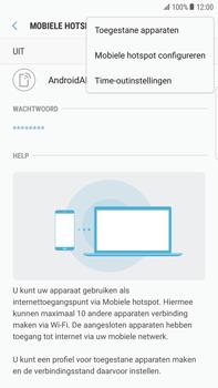 Samsung Galaxy S6 edge+ - Android Nougat - WiFi - Mobiele hotspot instellen - Stap 8