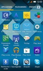 Alcatel One Touch Pop C3 - Internet et roaming de données - Comment vérifier que la connexion des données est activée - Étape 3