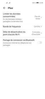 Huawei P40 Lite 5G - Internet et connexion - Utiliser le mode modem par USB - Étape 6