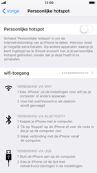 Apple iphone-7-met- ios-12-model-a1778 - WiFi - Mobiele hotspot instellen - Stap 6