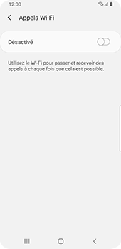 Samsung Galaxy S9 - Android Pie - WiFi - Activez WiFi Calling - Étape 9