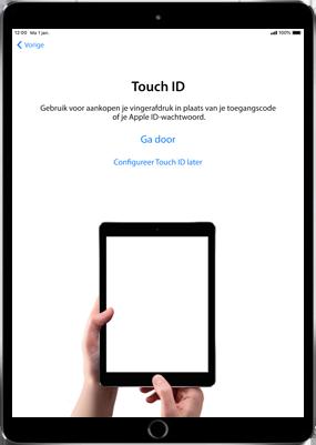 Apple ipad-pro-11-inch-2018-model-a1934 - Instellingen aanpassen - Activeer het toestel en herstel jouw iCloud-data - Stap 11