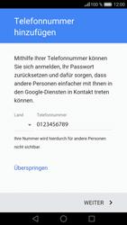 Huawei P9 - Apps - Konto anlegen und einrichten - 13 / 20