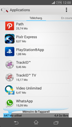Sony Xperia Z3 - Applications - Comment désinstaller une application - Étape 5