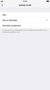 Apple iPhone 8 Plus - iOS 12 - Réseau - Changer mode réseau - Étape 6