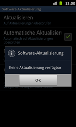 Samsung Galaxy S Advance - Software - Installieren von Software-Updates - Schritt 9