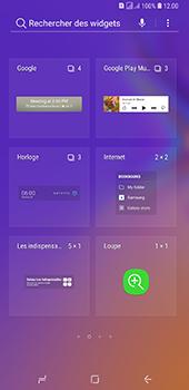 Samsung Galaxy A7 2018 - Applications - Personnaliser l