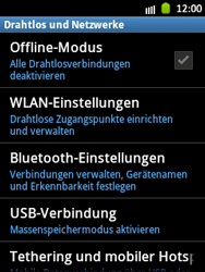 Samsung Galaxy Pocket - WiFi - WiFi-Konfiguration - Schritt 5