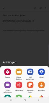 Samsung Galaxy S10 Plus - E-Mail - E-Mail versenden - Schritt 13
