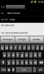 Samsung I8160 Galaxy Ace 2 - E-Mail - E-Mail versenden - Schritt 9