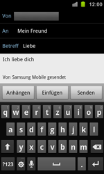 Samsung Galaxy Ace 2 - E-Mail - E-Mail versenden - 9 / 14