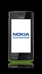Nokia 500 - MMS - handmatig instellen - Stap 1
