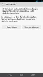 Huawei Ascend Mate - Fehlerbehebung - Handy zurücksetzen - Schritt 9