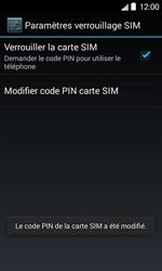 Bouygues Telecom Bs 403 - Sécuriser votre mobile - Personnaliser le code PIN de votre carte SIM - Étape 10
