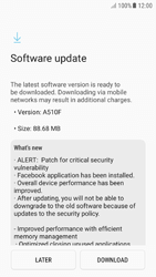 Samsung Galaxy A5 (2016) - Android Nougat - Software - Installing software updates - Step 8