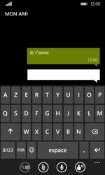 Nokia Lumia 530 - Contact, Appels, SMS/MMS - Envoyer un SMS - Étape 9