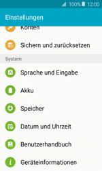 Samsung Galaxy J1 (2016) - Fehlerbehebung - Handy zurücksetzen - 6 / 11