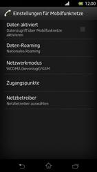 Sony Xperia T - Netzwerk - Netzwerkeinstellungen ändern - 6 / 7