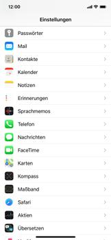 Apple iPhone X - iOS 14 - WiFi - WiFi Calling aktivieren - Schritt 4