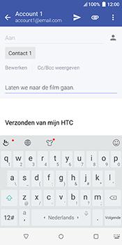 HTC u12-plus - E-mail - Bericht met attachment versturen - Stap 9