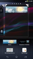 Sony Xperia Z1 - Operazioni iniziali - Installazione di widget e applicazioni nella schermata iniziale - Fase 6