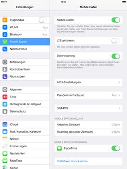 Apple iPad Air - Ausland - Im Ausland surfen – Datenroaming - Schritt 7