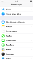Apple iPhone 5c - iOS 8 - E-Mail - 032c. Email wizard - Outlook - Schritt 4