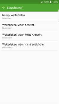 Samsung G928F Galaxy S6 edge+ - Anrufe - Rufumleitungen setzen und löschen - Schritt 9