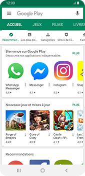 Samsung Galaxy S9 Android Pie - Applications - Créer un compte - Étape 21