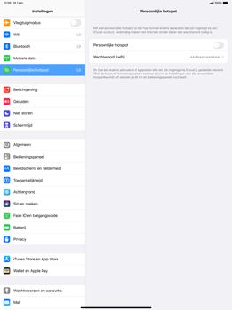 Apple ipad-pro-12-9-inch-2018-Model A1895-ipados-13 - WiFi - Mobiele hotspot instellen - Stap 6