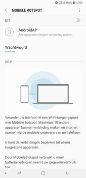 Samsung Galaxy A7 (2018) - Internet - mijn data verbinding delen - Stap 11