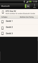 HTC C525u One SV - Bluetooth - Geräte koppeln - Schritt 10