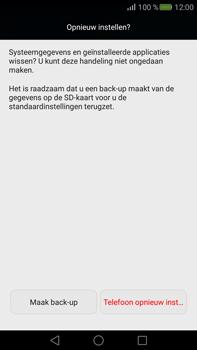 Huawei Mate S - Toestel - Fabrieksinstellingen terugzetten - Stap 7