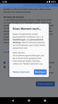 Sony Xperia XZ2 Premium - Android Pie - Apps - Konto anlegen und einrichten - Schritt 18