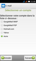 Alcatel One Touch Pop C3 - E-mail - configuration manuelle - Étape 12