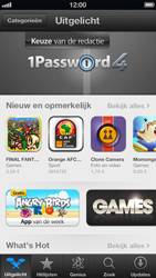 Apple iPhone 5 (iOS 6) - apps - account instellen - stap 13
