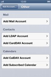 Apple iPhone 4 S - E-mail - Manual configuration - Step 7