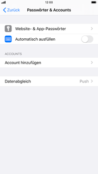Apple iPhone 7 Plus - iOS 13 - E-Mail - Manuelle Konfiguration - Schritt 4