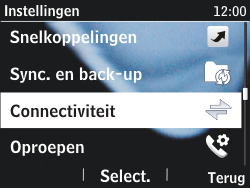 Nokia Asha 201 - Bluetooth - headset, carkit verbinding - Stap 4